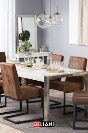 luxus stuhl in braun haus deko esszimmer zuhause