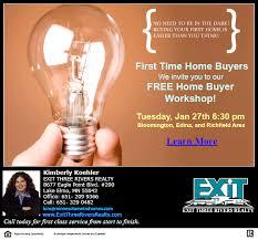 Minneapolis First Time Home Buyer Seminar Bloomington Richfield Edina Area
