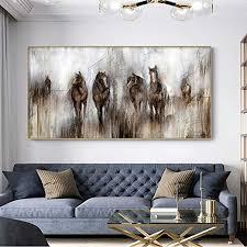 wandbilder leinwand bilder pferd natur kunstdruck
