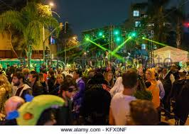 West Hollywood Halloween Carnaval 2017 by Los Angeles Usa 31st Oct 2015 Revelers Attend The West