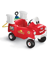 100 Fire Truck Ride On Little Tikes Spray Rescue Zulily