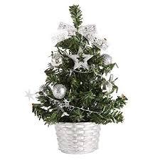 Mini Christmas Tree Decorations Miniature 20cmfor DIY Room Decor Home Table Top Decoration
