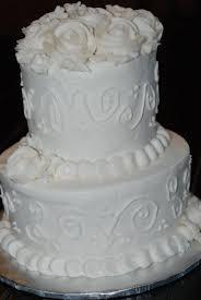 Traditional Buttercream Wedding Cake