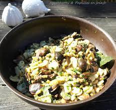 cuisiner les bolets poêlée de bolets et fèves fourchettes papilles en joie