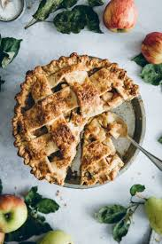 gedeckter pie mit apfel birnen füllung