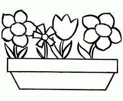 Flower Coloring Pages For Preschoolers And New