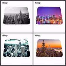 100 New York Pad US 209 Mairuige City Best Sales Durable Amazing Mouse Durable Mat 1822cm And 2529cm Mouse Mats Decorate Your Deskin Mouse S From