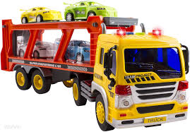 WolVol Friction Powered Transport Car Carrier Truck Toy For Boys And ... 2000 Kenworth W900b Car Carrier Truck For Sale Auction Or Lease Toy Transport For Boys And Girls Age 3 10 Semi Matchbox Large 18 Learn Colors With Car Carrier Truck Coloring Book Super Megatoybrand Hauler Transporter 6 Cars Wvol Military Kids Includes Long 28 Slots Friction Powered 3d Free Download Of Android Version M Trailer With On Bunk Platform Empty Intended To Deliver New Auto Batches Stock