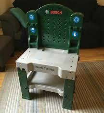 klein 8580 bosch workstation kinder werkbank mit werkzeug