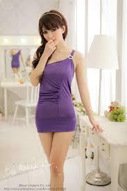 free ship light purple oblique shoulder strap tight stretch