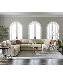 Clinton Fabric Sectional Collection Created for Macy s