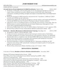 Contract Administrator Resume Government Examples That Lead