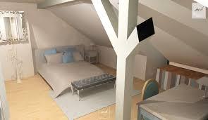 chambre dans comble amenagement salle de bain 9m2 avec suite parentale sous les combles