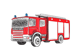 100 Fire Truck Graphics Truck Illustrations Creative Market