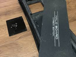 100 Surf Rodz Trucks Halo Board Carbon Fiber Deck For Sale UPDATED