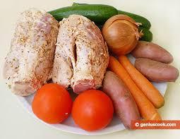 Louis Vuitton vegetables and Prada pork?   Source: geniuscook.com