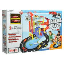 maisto parking garage toy vehicle playsets target