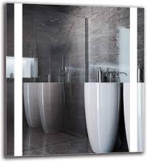 arttor badezimmer spiegel mit beleuchtung bad dekoration led badspiegel in vielen größen verschiedene dekorative muster und alle größen
