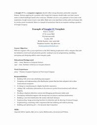 Resume Template Libreoffice Unique Work And Employment Templates
