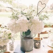 Cute Floral Arrangement In A Milk Jug