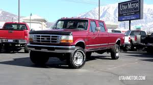 1997 Ford F-350 XLT 7.3L Power Stroke Old Body Style - Utah Motor ... Flashback F10039s Headlightstail Lights Partsgrills And New Ford Truck Lease Specials Boston Massachusetts Trucks 0 1956 F100 Pickup 124 Scale American Classic Diecast Regular Cab Obs Pics Page 50 Powerstrokenation Super Duty Mirrors On 9296 Body Style Enthusiasts Forums 15 That Changed The World Cars For Sale In Saskatchewan Bennett Dunlop 2002 Chevy Silverado Tow Mirrors Elegant Duty On 92 96 Bushwacker Max Coverage Pocket Style Fender Flares 52016 Make Model F150 Year 1986 Body Exterior 2017 Raptor Review Slashgear