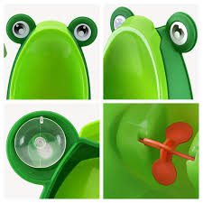 Frog Potty Seat With Step by Kids Boy Bathroom Potties Children Early Education Trainning Frog