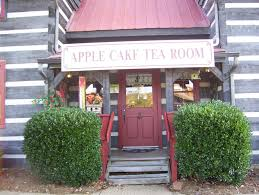 Apple Cake Tea Room Appalachian Log Square Campbell Station Road Farragut TN 865 966 7848 Mon Sat 11 00 AM 2 30 PM Upstairs rooms are available