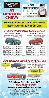 Upstate Chevrolet Weekly Ad - Chevy Specials, Used Car & Used Truck ... Classic Chevrolet New Used Dealer Serving Dallas 2017 Silverado 2500hd Rebates And Incentives Designs Of See Special Prices Deals Available Today At Selman Chevy Orange Ryan In Monroe A Bastrop Ruston Minden La New Chevrolet Truck And Car Specials Near San Antonio North Park York Buick Brazil In Terre Haute Sullivan 481 Cars Trucks Suvs Stock Serving Los Angeles Long Franklin Gmc Statesboro Vehicle Lease For Madison Baraboo Ballweg 2018 Current Incentive Tinney Automotive Miles Cars Trucks In Decatur