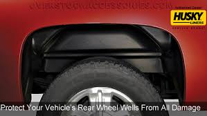 Husky Liners Rear Wheel Well Guards Fender Liners Set For 2015