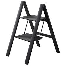Cosco Retro Chair With Step Stool Black by Step Stool Rubbermaid Steel Step Stool With Project Tray 3step