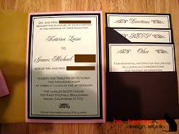 Our Wedding The Invitations