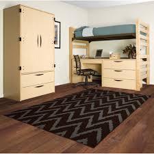 Bedroom Rugs Walmart by Nxt Gen Distressed Zig Zag Olefin Area Rug Walmart Com