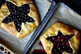 Blue And Red Berry Ricotta Galettes
