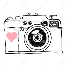 Camera Vector Sketch Stock