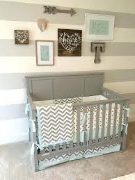 Bratt Decor Joy Crib Used by Decorated Baby Cribs Gray And Blue Nursery Airy Nursery Nursery