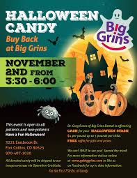 Operation Gratitude Halloween Candy Buy Back by Halloween Candy Buy Back At Big Grins Big Grins
