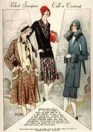 This Image Is Sketches Of The Drawings 1920s Fashion And Music Coco Chanel Designs