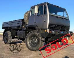 100 Midwest Truck Equipment 1994 Stewart Stevenson M1078 LMTV Cargo Military