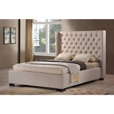 LuXeo Newport Palazzo Mist King Upholstered Bed LUX K6368 PLM