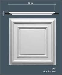 dalle de plafond en polyuréthane à coller haut de gamme orac décor