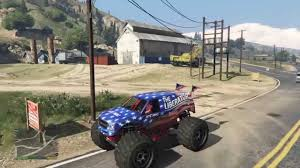 100 Gta 4 Monster Truck Cheat Location Of The Liberator Monster Truck In GTA 5 For Ps IN STORY MODE