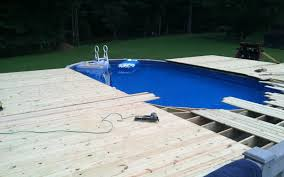 Above Ground Pool Deck Images by Building A Deck For An Above Ground Pool What You Need To Know