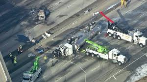 5-Year-Old Girl Killed In 60 Freeway Crash ID'd; All Lanes Reopen ... Gasoline Spilled In Tanker Crash Could Reach Columbia River Explosion Of A Truck On The Highway Montreal Canada Pakistan Oil Tanker Crash Kills At Least 153 Nbc News Accident Carson Road Njeffersonnewscom Tank Truck Wreck Editorial Image Image Fuel 41162655 1 Dead 10 Injured After Fiery 5 Freeway Near Griffith India Accident Stock Photos 5yearold Girl Killed 60 Idd All Lanes Reopen Temporarily Closes Westbound Victory Way Wednesday Carrying Chicken Feed Overturns Blocking Safety Design Equipment And Human Factor Saferack Hror Three Critical As Small Car Squashed