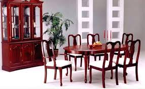 Queen Anne Dining Room Chairs Set Furniture Square Table For