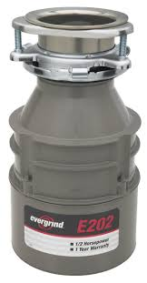 Badger Sink Disposal Troubleshooting by Emerson Evergrind E202 Food Waster Disposer 1 2 Horsepower 1