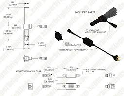 motorcycle led headlight conversion kit h4 led headlight bulb