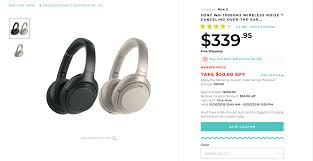 Sony WH-1000XM3 ANC Bluetooth Headphones Drop To $290 For Rakuten ... 58 Sharp Roku 4k Smart Tv Only 178 Deal Of The Year Coupon Code Coupon Sony Wh1000xm3 Anc Bluetooth Headphones Drop To 290 For Rakuten Redeem A Sling Promo Ca Crackberry Shop Online Canada Free Shipping Coupon Codes Online Coupons Promo Dell Macys Codes August 2019 Findercom Earthvpn New Roku What Are The 50 Shades Of Grey Books