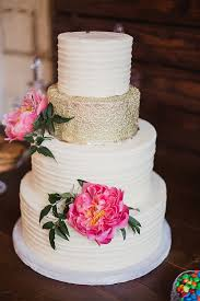 White And Gold Wedding Cake We This Moncheribridals