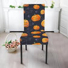 Pumpkin Halloween Print Pattern Dining Chair Slip Cover ... Witch Chair Cover By Ryerson Annette 21in X 26in Project Sc Rectangle Table Halloween Skull Pattern Printed Stretch For Home Ding Decor Happy Wolf Cushion Covers Trick Or Treat Candy Watercolor Pillow Cases X44cm Sofa Patio Cushions On Sale Outdoor Chaise Rocking For Halloweendiy Waterproof Pumpkinskull Prting Nkhalloween Pumpkin Throw Case Car Bed When You Cant Get Enough Us 374 26 Offhalloween Back Party Decoration Suppliesin Diy Blackpatkullcrossboneschacoverbihdayparty By Deal Hunting Diva Print Slip