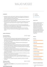 Associate Professor - Resume Samples And Templates | VisualCV Collection Of Solutions College Teaching Resume Format Best Professor Example Livecareer Adjunct Sample Template Assistant Clinical Samples And Templates Examples For Teachers Awesome 88 Assistant Jribescom English Rumes Biomedical Eeering At 007 Teacher Cover Letter Ideas Education Classic 022 New Objective Statement Photos